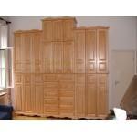 Égerfa szekrény