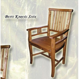 Betti karfás szék